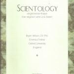 Bryan Wilson, Dr. Phil. – Scientology – Vergleichende Analyse ihrer religiösen Lehre und Doktrin