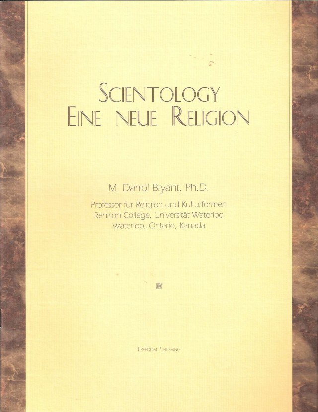 scientology dissertation