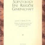 Lonnie D. Kliever – Scientology : Eine religiöse Gemeinschaft