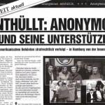 Ausgabe September 2008 Enthüllt: Anonymous und seine Unterstützer