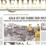 Ausgabe Nr. 4 / 2005 Gelb ist die Farbe der Hilfe