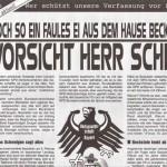 Ausgabe Mai 2003 Bayern: Wer schützt unsere Verfassung vor Beckstein