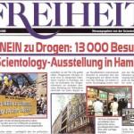 Ausgabe Freiheit September 2001 Sag Nein zu Drogen : 13.000 Besucher zu Scientology Ausstellung